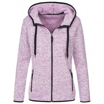 Active Knit Fleece Jacket100%P