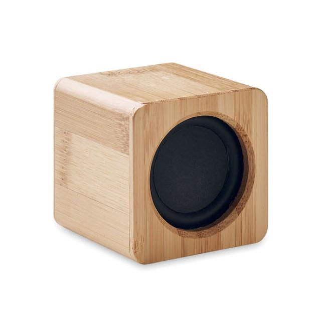 AUDIO - Speaker in bamboo