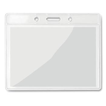 BADGY - Porta badge trasparente 10x8cm