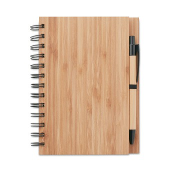 BAMBLOC - Notebook in bamboo con penna