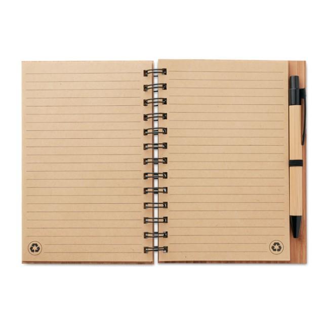 BAMBLOC - Notebook in bamboo con penna