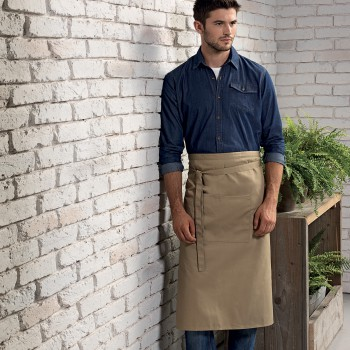 BAR APRON LUNG TASCA 65%P35%C