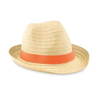 BOOGIE - Cappello di paglia naturale
