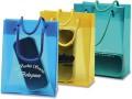 Borsa  shopping translucida pratica ed elegante.