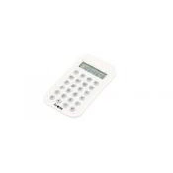 Calcolatrice 8 cifre plastica bianca