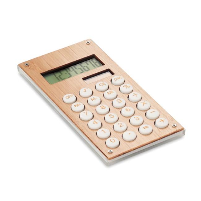 CALCUBAM - Calcolatrice in bamboo