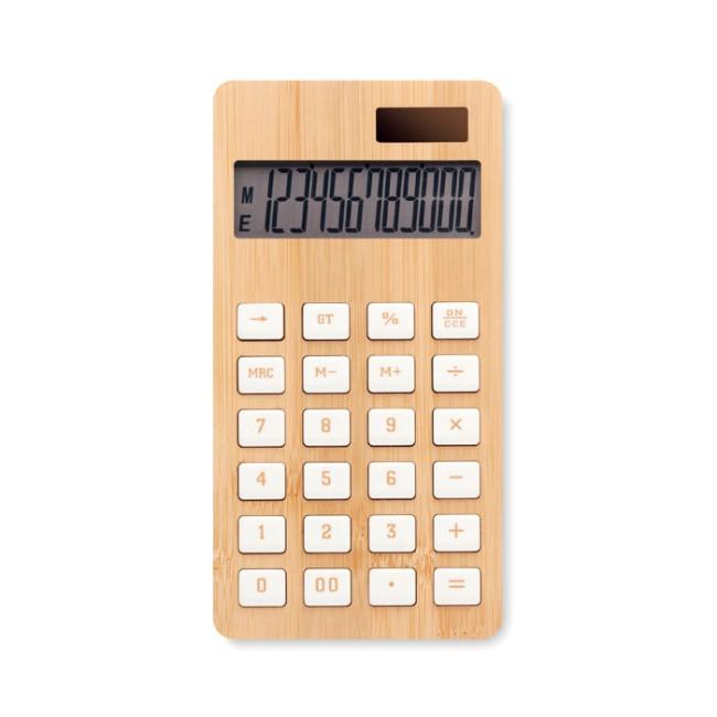 CALCUBIM - Calcolatrice in bamboo