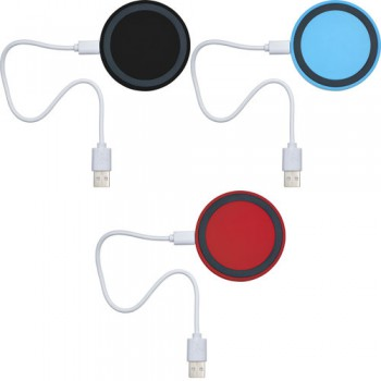Caricabatterie ad induzione, adatto per la ricarica wireless