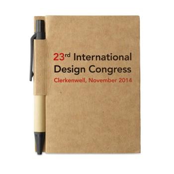 CARTOPAD - Quaderno in cartone riciclato