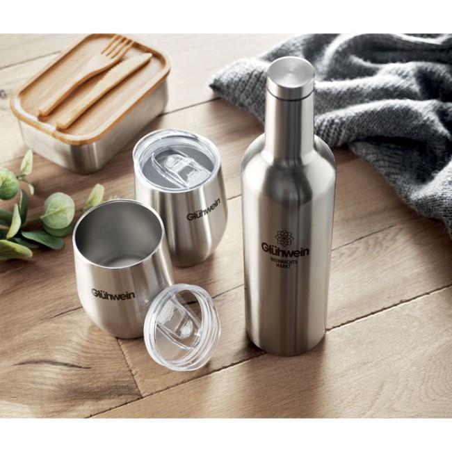 CHIN SET - Set bottiglia e tazze