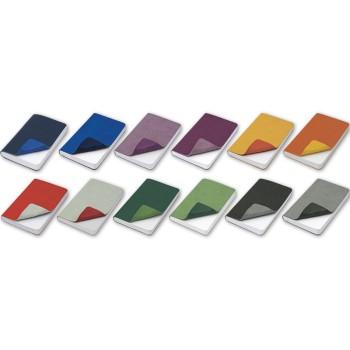 REFLEXA blocco f.to 9x14, a righe, 224 pg. in vivella bicolore. Astuccio di confezione.