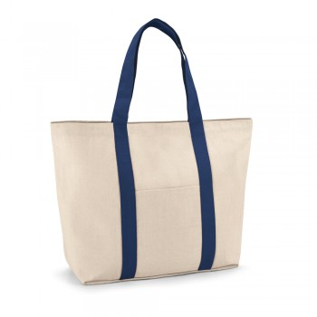 VILLE. Borsa in canvas di cotone 100%